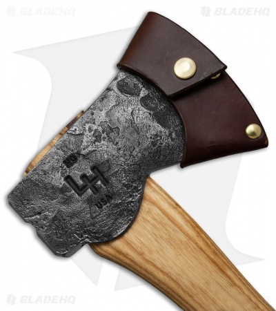 "Hoffman Blacksmithing 20"" Wasatch Axe Polished Top/Bottom - Natural Finish"