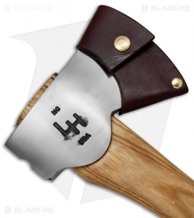 "Hoffman Blacksmithing 20"" Wasatch Axe w/ Ash Wood Handle - Full Polish"