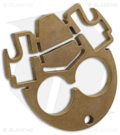 Inmotion Tactical Gas Mask Tool - Brass