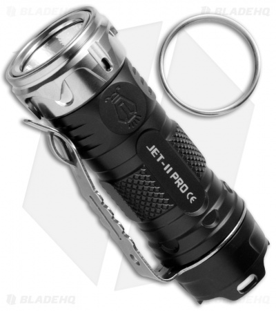 JETBeam Jet-II Pro Flashlight Two-Tone Ti Cree XP-L HI LED (510 Lumens)