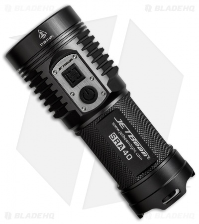 JETBeam SRA40 Outdoor Forerunner Flashlight Cree XP-L LED (1100 Lumens)