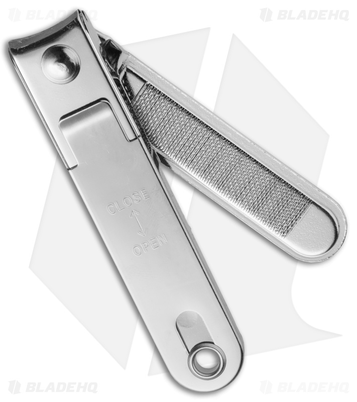 Kanetsune Chromium Coated Steel Nail Clipper (Large) - Blade HQ