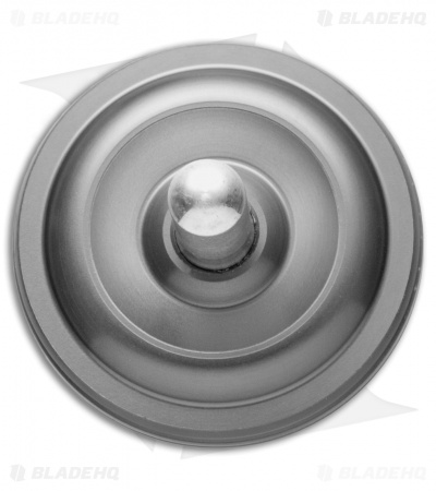 Karas Kustoms Machined Toy Spinning Top Gray (Aluminum)