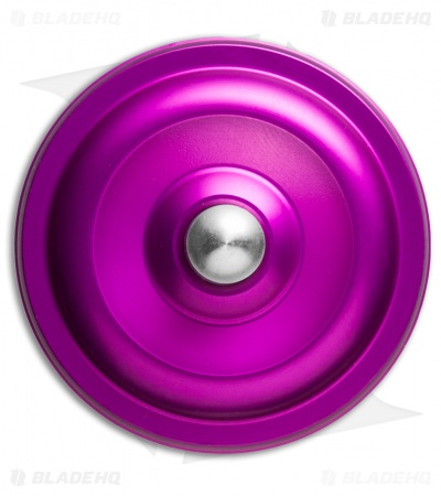Karas Kustoms Machined Toy Spinning Top Violet (Aluminum)