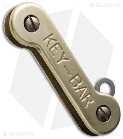 KEY-BAR Brass Premium Pocket Key Holder/Organizer