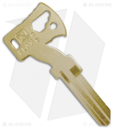 Klecker Knives KLAX Key Blank - Brass