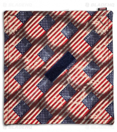 "The Original Knife Burrito 9.75"" x 9.75"" (Distressed US Flag)"