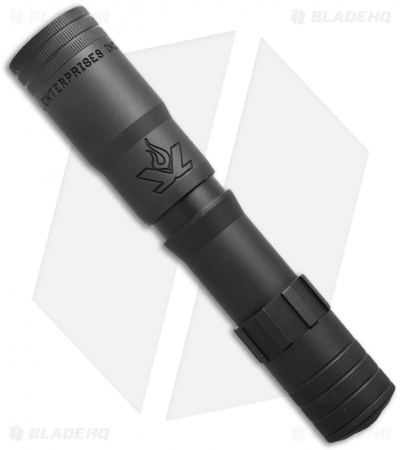 LensLight KO Black Dual-Output Flashlight Smooth Bezel ( Default High) LLKOB-3S