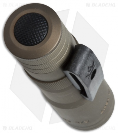 LensLight Mini Tan Dual-Output Flashlight Smooth Bezel (Default High) LLMT-3S