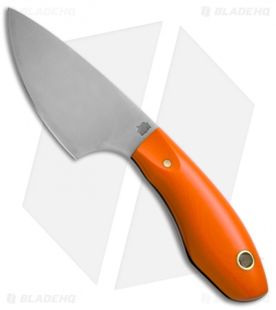 "LT Wright JX3 Fixed Blade Knife Orange G-10 (3.25"" Satin)"