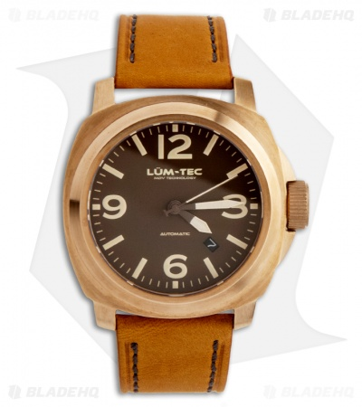 Lum-Tec M54 Bronze Men's Chronograph Watch