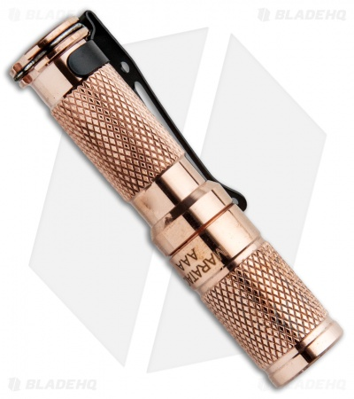 Maratac AAA Copper Flashlight Rev 5 Nichia 219 (138 Lumens)