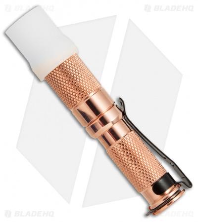 Maratac Aaa Copper Flashlight Rev 4 Nichia 219 138 Lumens