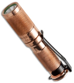 Maratac Aaa Copper Flashlight Cree Xp G2 138 Lumens