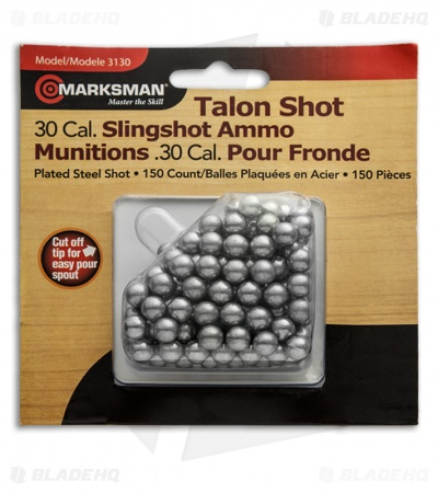 Marksman 30 Cal. Talon Shot Ball Bearings Plated Steel (150 Qty) 3130