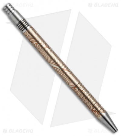 Matthew Martin Tactical 375 Series Mokume Click Pen
