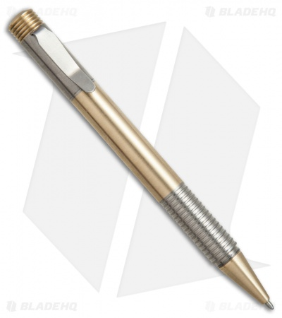 Matthew Martin Tactical 500 Series Brass/Titanium Pen 500TiBB