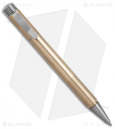 Matthew Martin Tactical 500 Series Screw Cap Pen (Bronze/Titanium)