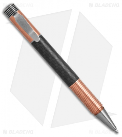 Matthew Martin Tactical 500 Series Screw Cap Pen (Copper/Carbon Fiber)
