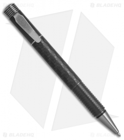 Matthew Martin Tactical 500 Series Screw Cap Pen (Zirconium/Carbon Fiber)