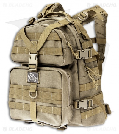 Maxpedition Condor II Khaki 2-Day Assault Backpack Hydration 0512K