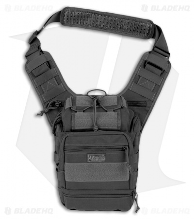 Maxpedition Colossus Versipack Black Shoulder Sling Pack Bag 0424B