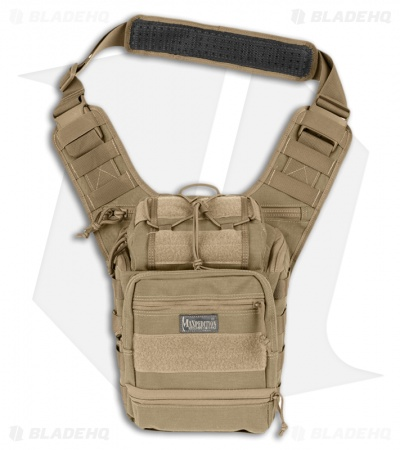 Maxpedition Colossus Versipack Khaki Shoulder Sling Pack Bag 0424K