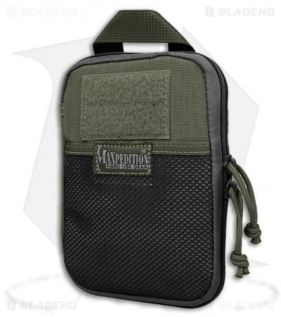 Maxpedition E.D.C. Pocket Organizer OD Green Utility Pouch Bag 0246G