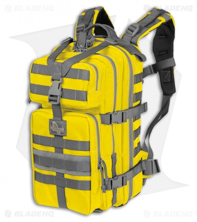 Maxpedition Falcon II Yellow Assault Backpack Hydration 0513SY
