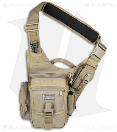 Maxpedition Fatboy Versipack Khaki Shoulder Sling Pack Bag 0403K