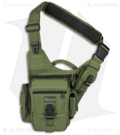 Maxpedition Fatboy Versipack OD Green Shoulder Sling Pack Bag 0403G