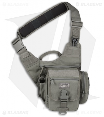 Maxpedition Fatboy S-Type Versipack Foliage Green Shoulder Sling Pack Bag 0408F