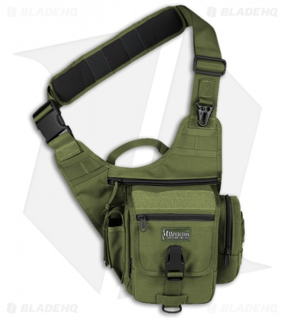 Maxpedition Fatboy S-Type Versipack Green Shoulder Sling Pack Bag 0408G