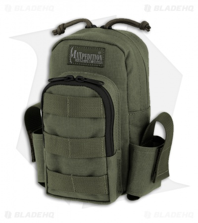 Maxpedition Tactical Handheld Computer Case OD Green Bag Pouch 1601G