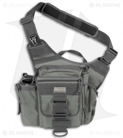 Maxpedition Jumbo Versipack Foliage Green Shoulder Sling Pack Bag 0412F