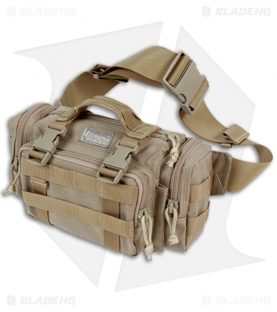 Maxpedition Proteus Versipack Khaki Fanny Pack Buttpack 0402K