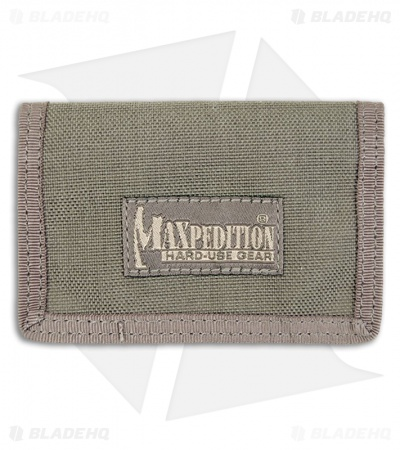 Maxpedition Micro Wallet Foliage Green Super Thin ID Holder 0218F