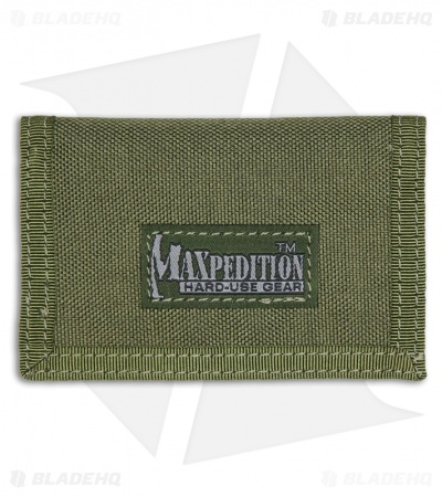 Maxpedition Micro Wallet OD Green Super Thin ID Holder 0218G