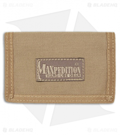Maxpedition Micro Wallet Khaki Super Thin ID Holder 0218K