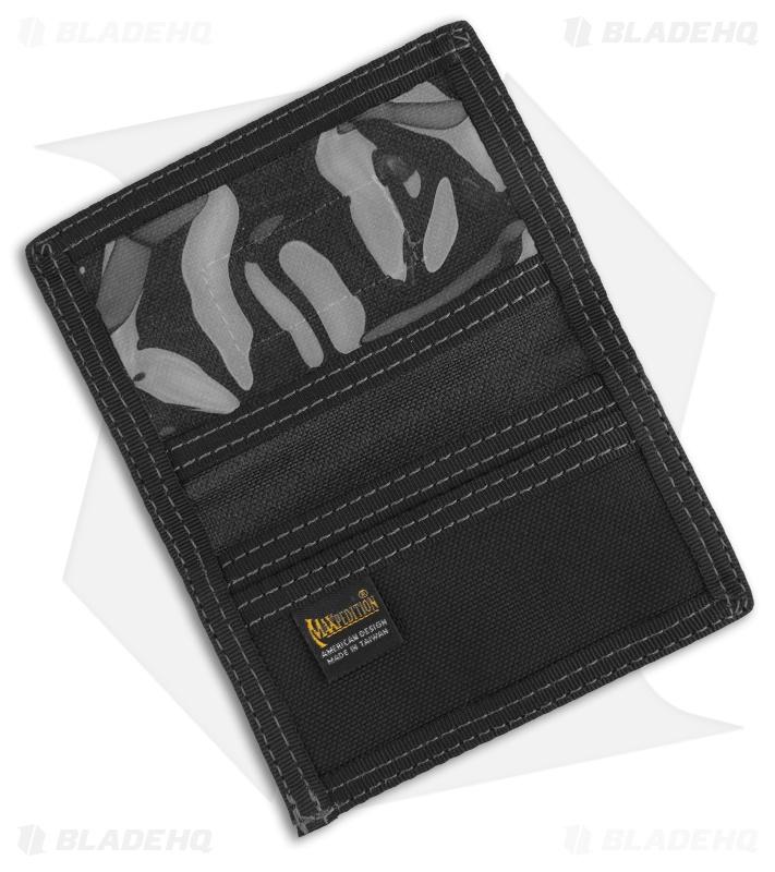 7cd1e546c7ad Maxpedition Micro Wallet Black Super Thin ID Holder 0218B