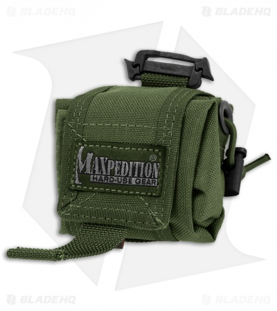 Maxpedition Mini Rollypoly OD Green Folding Dump Utility Bottle Pouch 0207G