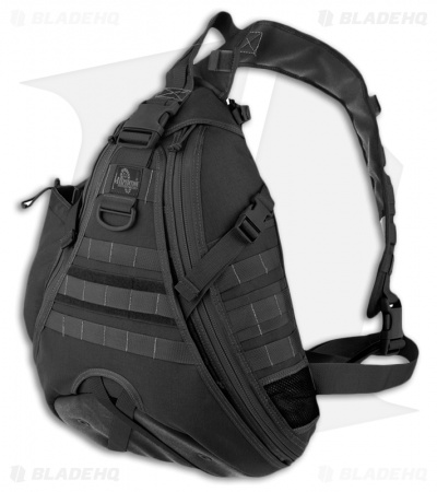 Maxpedition Black Monsoon Gearslinger Shoulder Pack Hydration 0410B