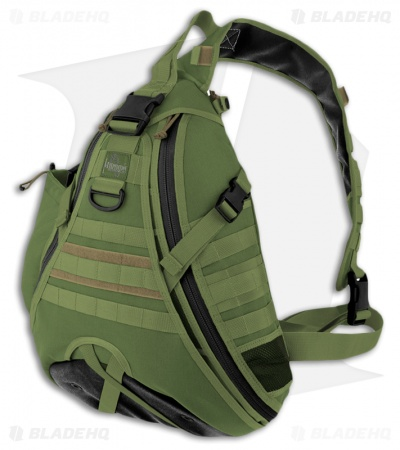 Maxpedition Monsoon Gearslinger OD Green Shoulder Pack Hydration 0410G