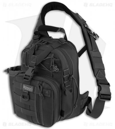 Maxpedition Noatak Gearslinger Black Shoulder Sling Bag Pack 0434B
