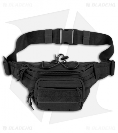 Maxpedition Octa Versipack Black Fanny Pack Buttpack 0455B