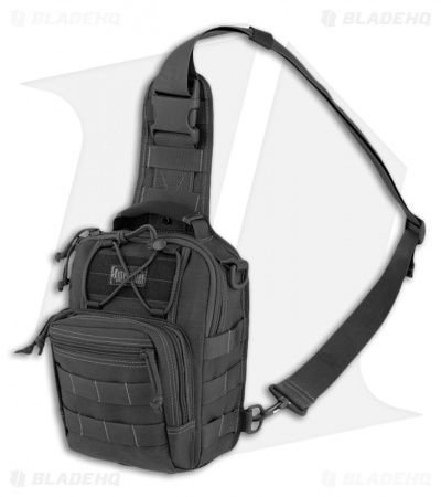 Maxpedition Remora Gearslinger Black Shoulder Utility Pack Bag 0419B