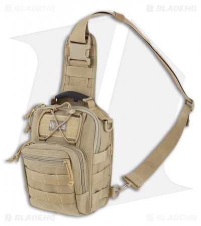 Maxpedition Remora Gearslinger Khaki Shoulder Utility Pack Bag 0419K