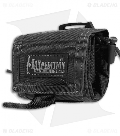 Maxpedition Rollypoly MM Black Folding Dump Utility Pouch 0208B