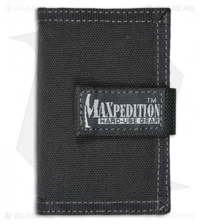 Maxpedition Urban Wallet Black Low Profile ID Holder 0217B