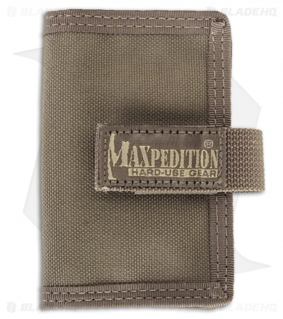 Maxpedition Urban Wallet Foliage Green Low Profile ID Holder 0217F